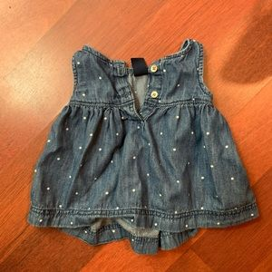 Baby Gap Baby Girl Denim Dress